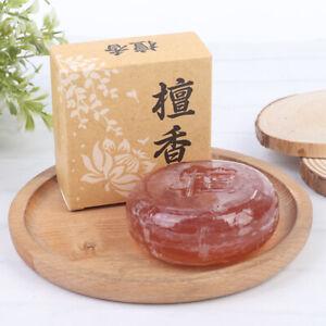 1Pc Sleepless Treatment Sandalwood Soap Promote Sleep Sleepy Soap Anti Insomnia