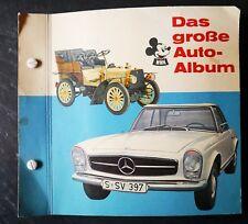 Das grosse Auto-Album - Ehapa 1964 - komplett | Micky Maus Sammelbilderalbum