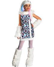 Morris Costumes Girls Monster High Abbey Bominable Child Medium. RU881362MD