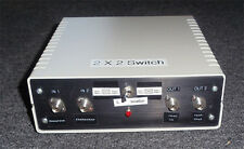 Newport: 2X2 single Fiber Optic Switch with case connector and power supply