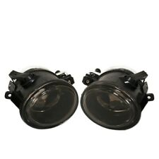 Fit 99-03 E39 M5/01-05 E46/01-05 E46 M3 Front Bumper Fog Lights Smoke Lens
