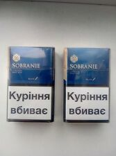 2 x Sobranie London BLUE Cigarettes 2 x 20