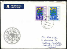Estonia 1994 Commercial Airmail Cover To UK #C43600