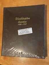 Washington Quarter Dansco Coin Album 7140 New In Plastic 1932 - 1998