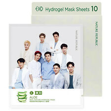 Nature Republic EXO Real Nature Hydrogel Mask Sheets Set