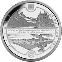 2015 $20 .9999% Fine Silver 1oz Coin - Unesco at Home & Abroad-Mount Fuji