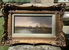 Guild Framed Early 20th Century Oil - Landscape Signed K Shirling