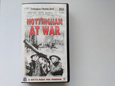 Nottingham At War - PAL VHS Video - 1998 Viewpoint documentary.