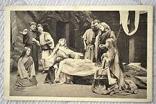 """CPA """" LA PASSION A NANCY - Jésus est remis entre les bras de sa Mère"""