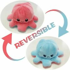 Reversible Octopus Plush Stuffed Toy Flip Animal Home Accessories Huggable Gift