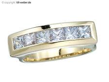 """Ring """"Weiße Saphire"""" Gold"""