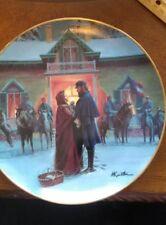 """Mort Kunstler Collector Plate """"Until We Meet Again"""" by Danbury Mint"""
