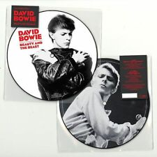 "DAVID BOWIE ""BEAUTY AND THE BEAST""  7' picture disc sealed"