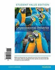 Organizational Behavior, Student Value Edition by Stephen Robbins and Timothy A.