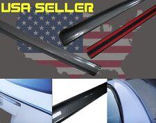 For 2003-2009 MAZDA 3 SEDAN 4D Carbon Look Trunk Lip Spoiler