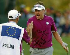 Ian Poulter Hand Signed 8x10 Photo PGA Autograph Golf