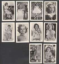 Cover w 10 Mini R Photo Shirley Temple USA Actress