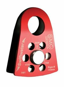 SMC Swiftwater Pulley (Red/Black, 2-Inch)