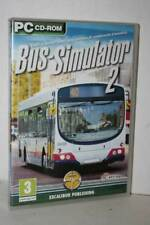BUS SIMULATOR 2 GIOCO USATO PC-CD ROM VERSIONE UFFICIALE ITALIANA GD1 56983