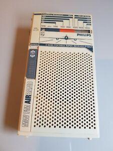 VINTAGE PHILIPS  D1207 MW FM AIRBAND Receiver Radio