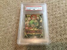 2019 Topps WWE Road To Wrestlemania PSA 10 Wrestling Foil Pack
