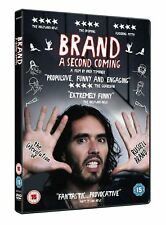 Russell Brand: A Second Coming (DVD, 2015) NEW SEALED PAL Region 2