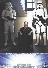 Steve Sansweet Official Pix Star Wars Autograph Trading Card Fan Days