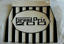 Lambretta Black & White Stripe GP 200 Genuine Cuppini Mudflap Rubber Type