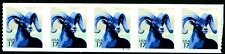 Big Horn Sheep PNC5 Plate Numbered Strip of 5 MNH PL S11111111 Scott's 4140