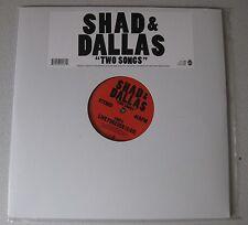 "SHAD & DALLAS - Two Songs 12"" CITY AND COLOUR *RAR* Alexisonfire"
