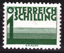 Österreich Porto 155 *, 1 Schilling grün