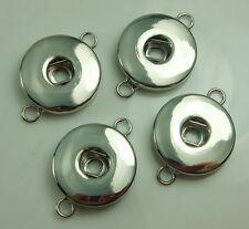 30pcs Alloy Noosa series Chunks Snap Button Charm fit Bracelet Accessories P2