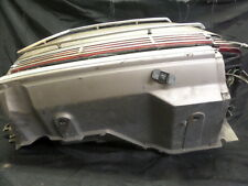 1988 HONDA GL1500 GOLDWING LEFT SADDLE BAG PLASTIC FAIRING W/ CHROME TRIM LIGHTS