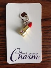 SILPADA Sterling Silver Charm Collection - Read My Lips - C2588