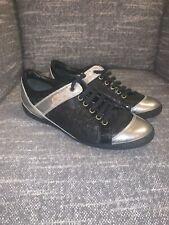 Dior Women Trainers Worn Once Size 37.5 Black And Silver