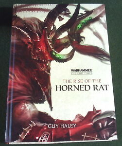Black Library THE RISE OF THE HORNED RAT Guy Haley 2015 Hardback
