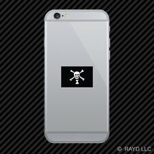 Jolly Roger Emanuel Wynne Flag Cell Phone Sticker Mobile Die Cut pirate flag