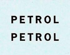Dinky 25d Petrol Tanker | PETROL Black Lettering | Waterslide Transfer/Decal