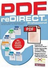 PDF reDIRECT v2 Professional kompat. Adobe Acrobat Sehr guter Zustand