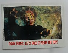 1988 Topps FRIGHT FLICKS Horror Movies Trading Card #67 ~ DAY OF THE DEAD