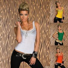 Polyamide Scoop Neck Party Tops & Shirts for Women