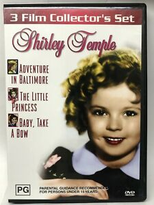 Shirley Temple - 3 Movies on 1 DVD - AusPost with Tracking
