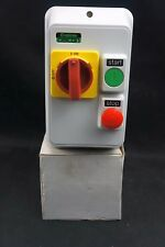 Crabtree Ceicon DOL Starter Enclosure 2 Push Buttons+MCS C10-19 55011/AA0 (IS4)