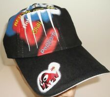 Red Hot Chili Peppers RHCP Hat Ball Cap~BLACK~Spaceship~Adjustable~Ships FREE