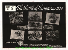 THE BUCCANEER MOVIE POSTER 11 Pieces 1938 CECIL B. DEMILLE Film FREDERICK MARCH
