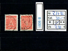 (B9051) GG Nr. R 1 + R 2  Rundfunkmarken Kat. 30.-€