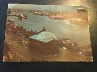 Vintage Postcard  Hamburg Elbtunnel.