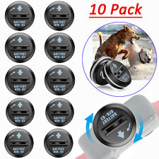 10 Pack 6V Rfa-67 Battery Replacement For Pet Safe Fence Bark Training Collars