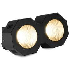 Beamz sb200 LED STAGE cieca 2x 50 Watt COB con DMX controllo bianco caldo Strobe