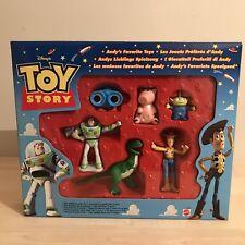 Toy STORY RARO NUOVO CON SCATOLA 1996 Andy's Favourite Giocattoli Figure Lenny, Alieno, HAMM